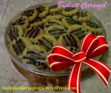 Jual Kue Kering Lebaran Biskuit Caramel | Aneka Kue Kering Jogja