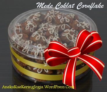 Jual Kue Kering Lebaran Mede Coklat Cornflake
