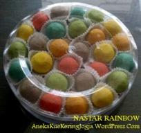 Kue Kering Nastar Rainbow