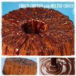 CHOCO CHIFFON with MELTED CHOCO