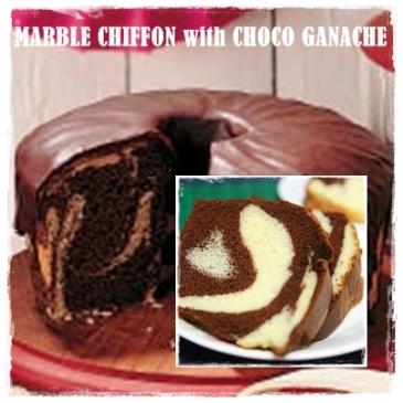 MARBLE CHIFFON with CHOCO GANACHE